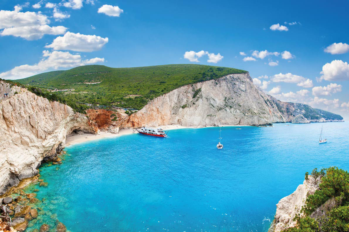Porto Katsiki beach in Lefkada, Greece - Best beaches in Europe