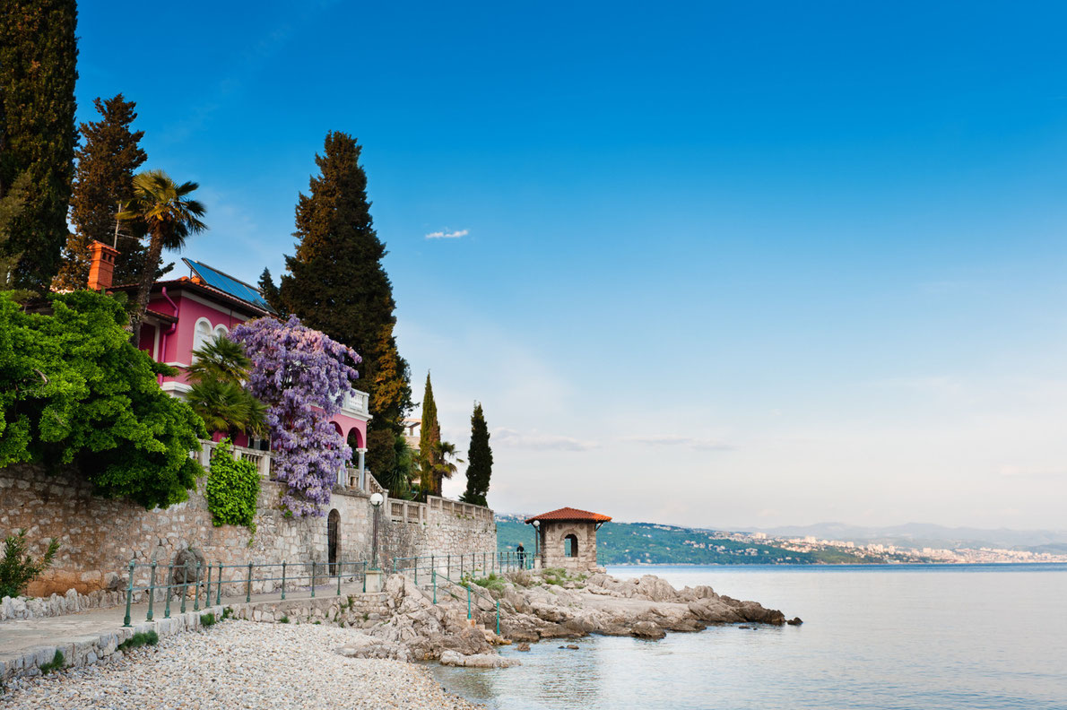 Opatija Romantic Destinations in Europe Copyright Evgeniya Moroz- European Best Destinations