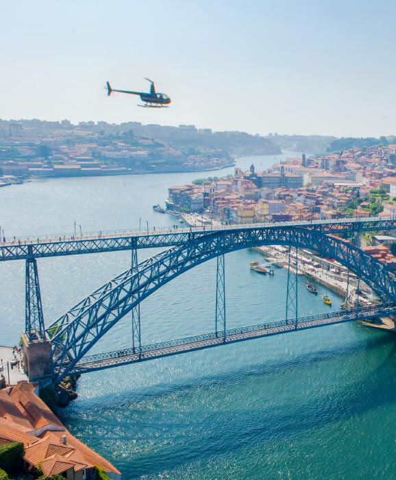Porto Helicopter Tour