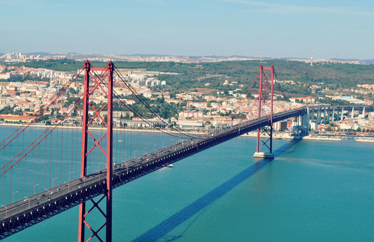 25 April Bridge in Lisbon