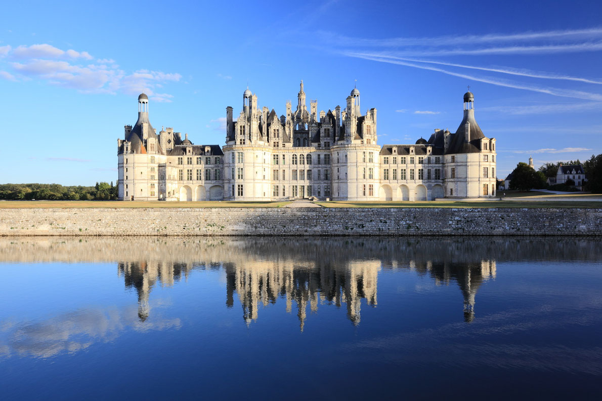 Royal chateau de Chambord France - Best castles  in Europe