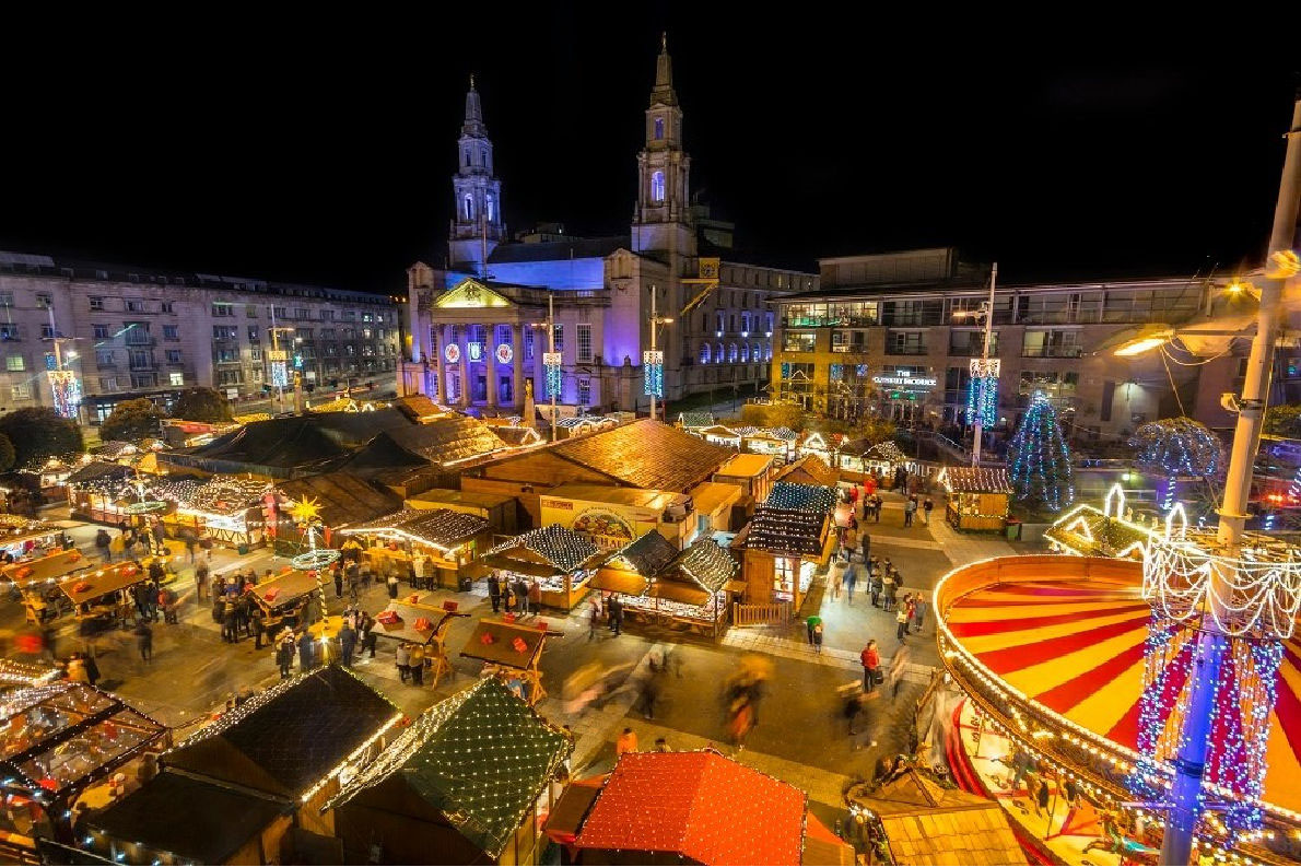 Christmas in Leeds - Copyright Leeds City Council  - European Best Destinations