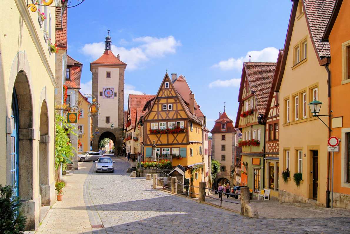 Best Roadtrips in Europe - Romantic Road in Germany Copyright JeniFoto - European Best Destinations