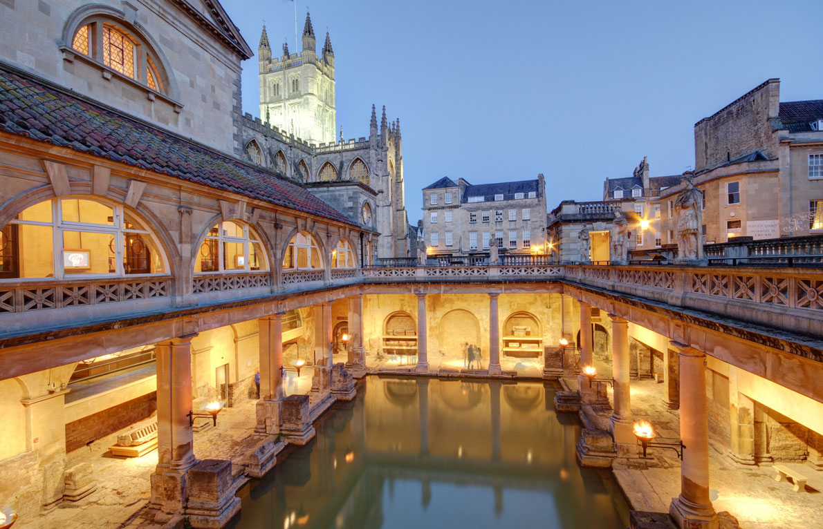 Best thermal destinations in Europe - Bath - Copyright Ollie Taylor - European Best Destinations