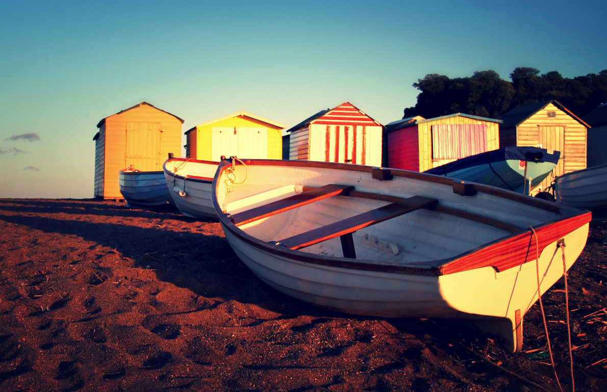 Best beaches huts - Teignmouth Harbour - Copyright TempusVolat - European Best Destinations