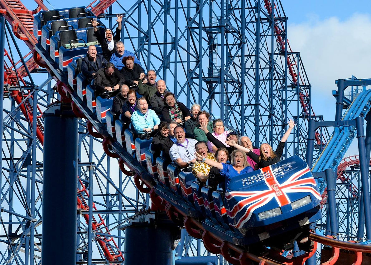 Blackpool Pleasure Beach theme park - Best amusement parks in Europe