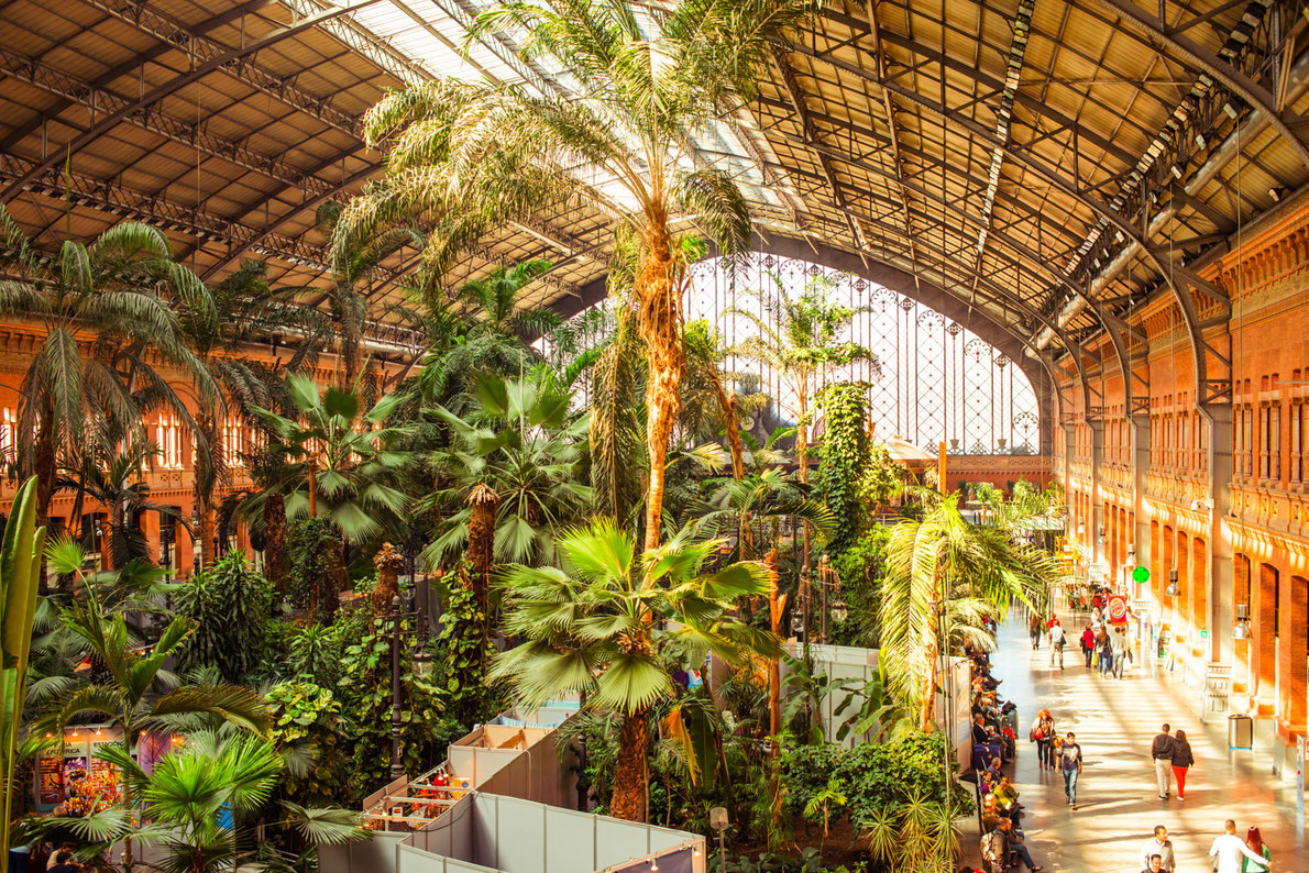 Best railway stations in Europe - Atocha Station Copyright Yulia Grigoryeva - European Best Destinations