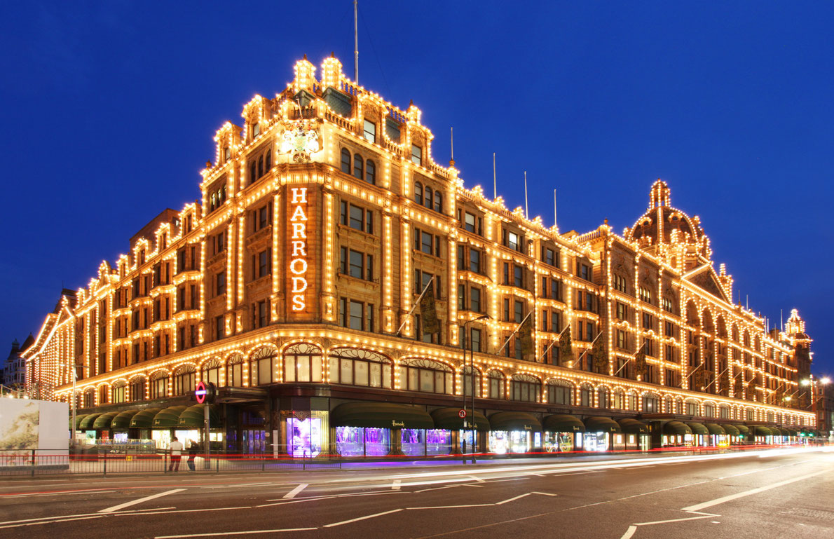 Best shopping centers in Europe - Harrods Copyright Dan Breckwoldt - European Best Destinations