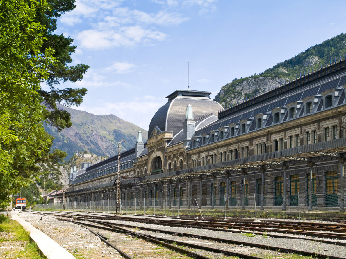 Best abandoned places in Europe - Canfranc Station - Copyright VICTOR TORRES  - European Best Destinations