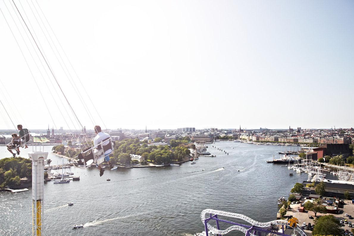 Gröna Lund Stockholm - Best amusement parks in Europe