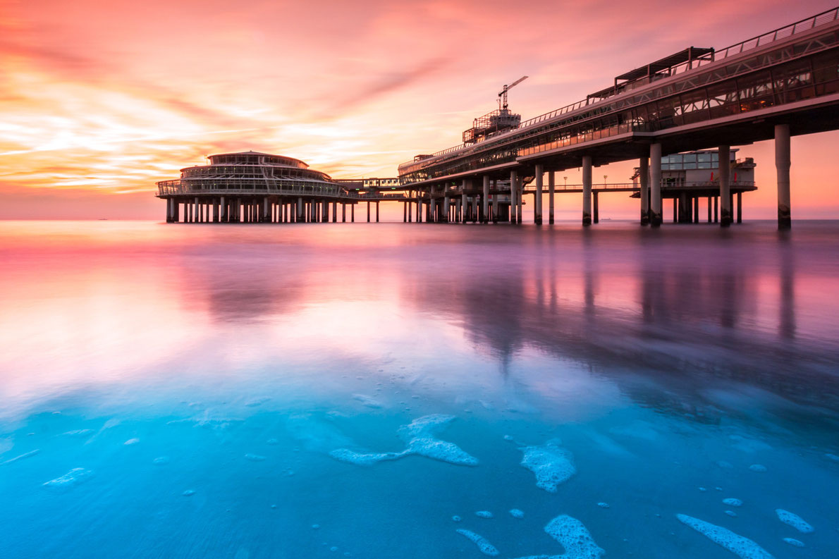 Best piers in Europe - Scheveningen Pier - Copyright mandritoiu - European Best Destinations