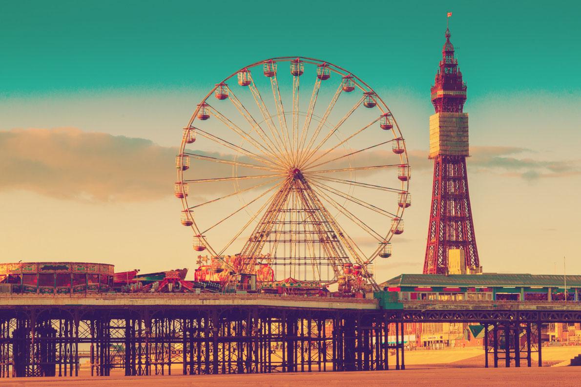 Best Piers in Europe - North Pier Blackpool - Copyright Paul Daniels - European Best Destinations