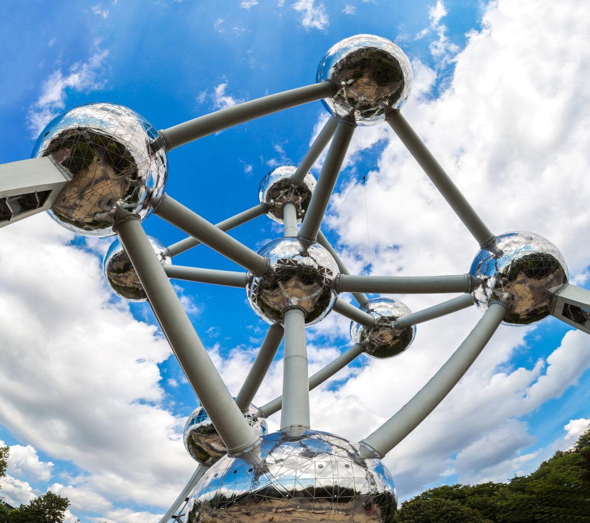 Atomium Brussels - بهترین مقصد اروپا