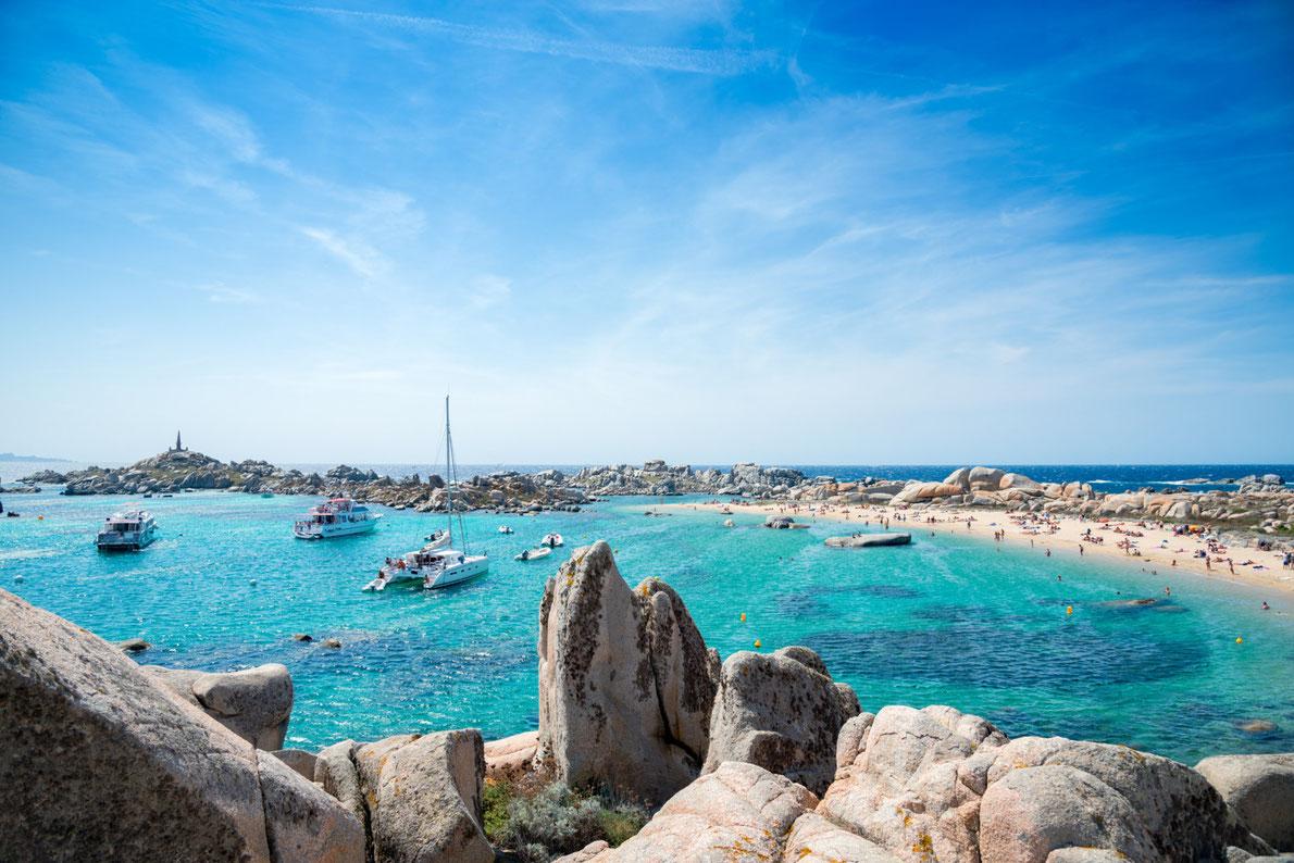 Best beaches in Europe -  Cala Acciarino Lavezi Island Corsica Copyright Matteo Gabrieli