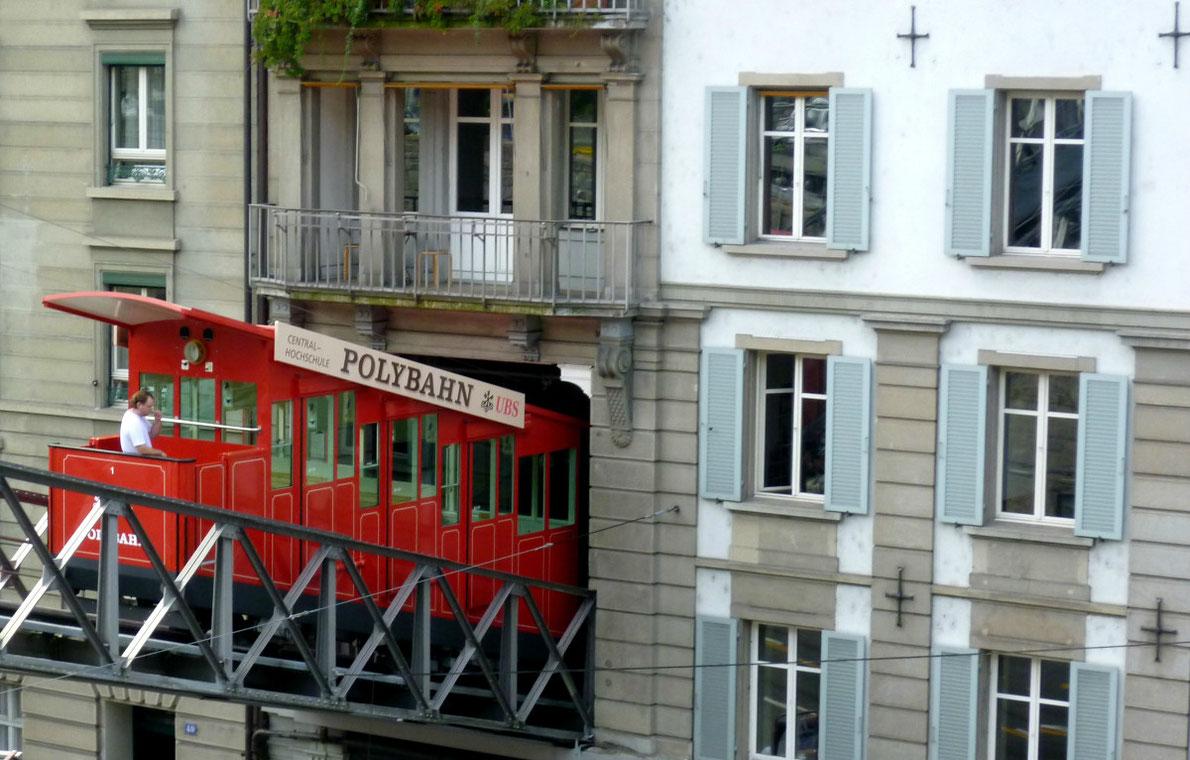 Polybahn Funicular Zurich