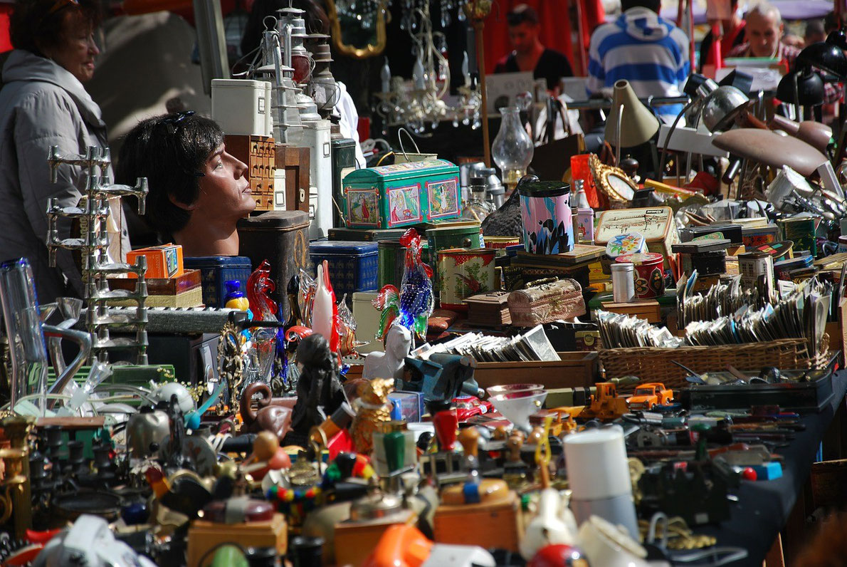 Portobello road market - Top Flea Markets in Europe