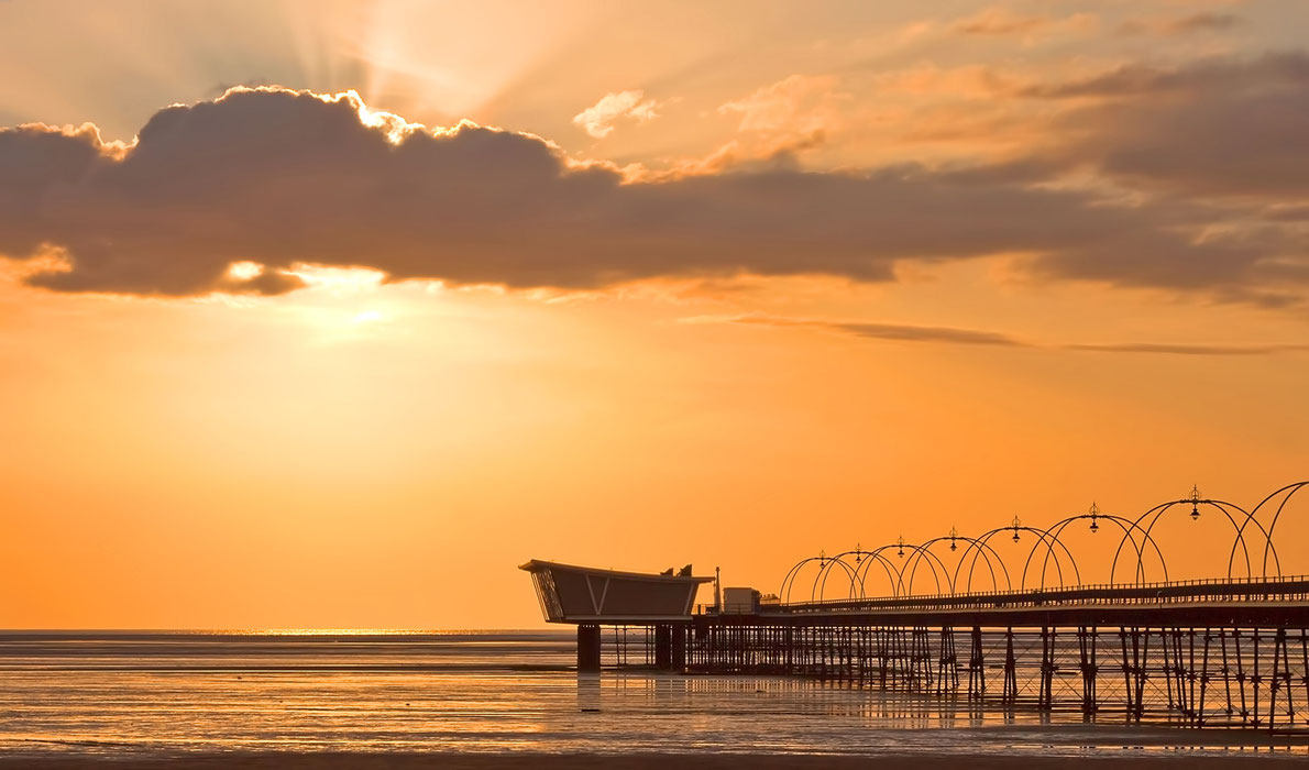 Best piers in Europe - Southport Pier - Copyright  Roger Green - European Best Destinations