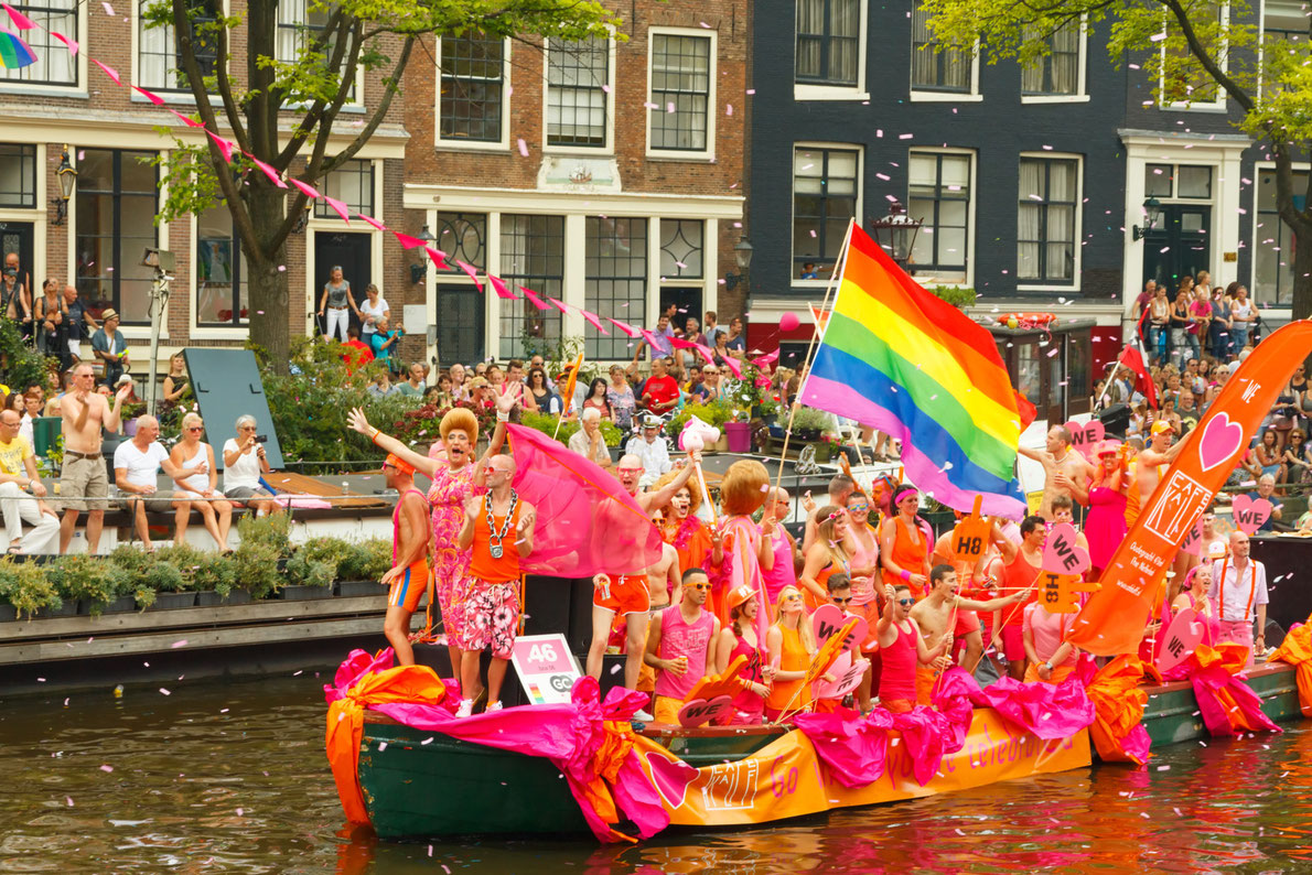 Best gay prides in Europe - Amsterdam Gay Pride - Copyright kavalenkau - European Best Destinations