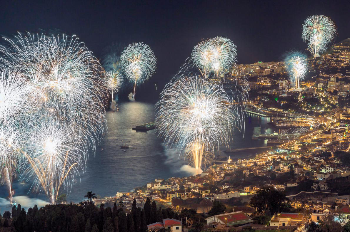 Madeira New Year's Fireworks - Copyright  Porto Bay Events - European Best Destinations