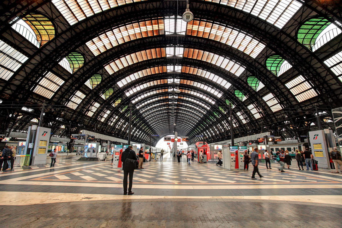Best railway stations in Europe - Central Station Milan - European Best Destinations Copyright Rostislav Glinsky
