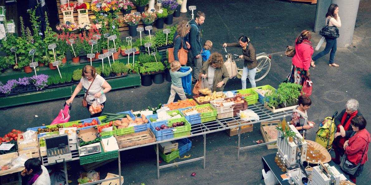Capucins market Bordeaux