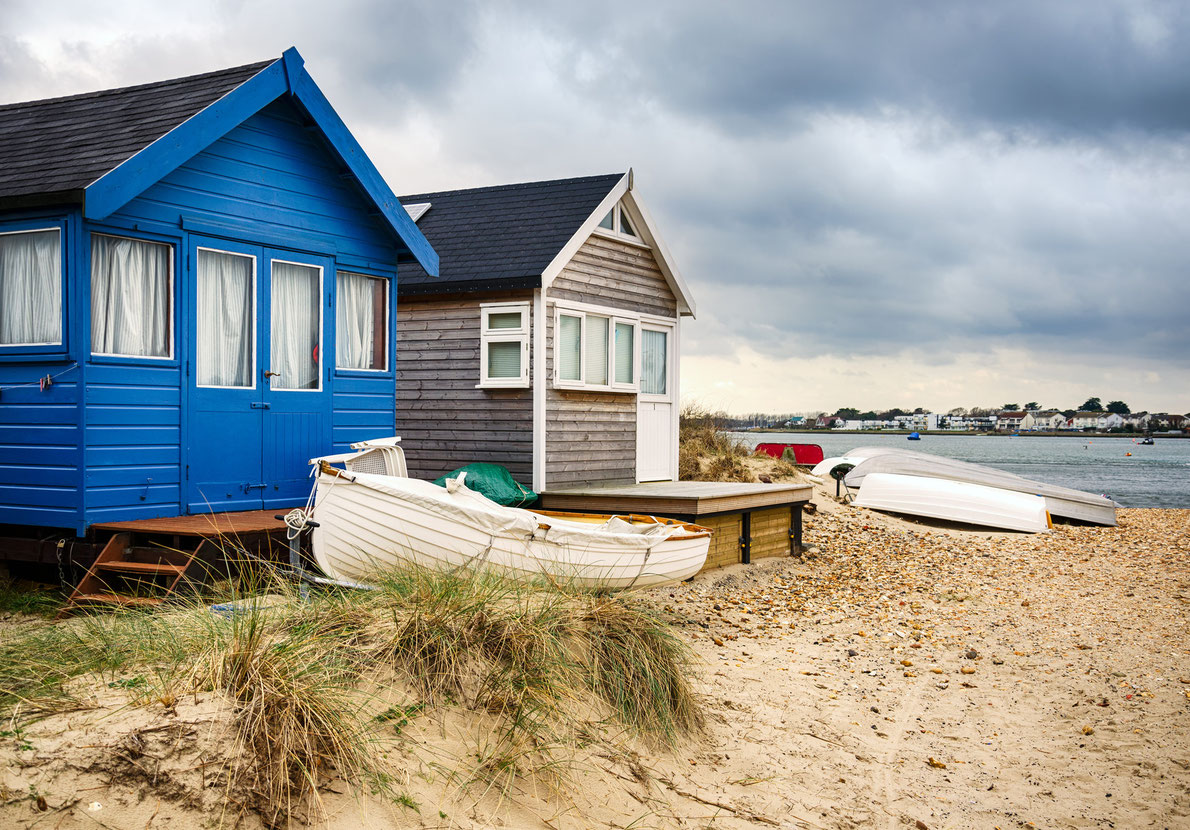 Best beach huts - Mudeford Beach