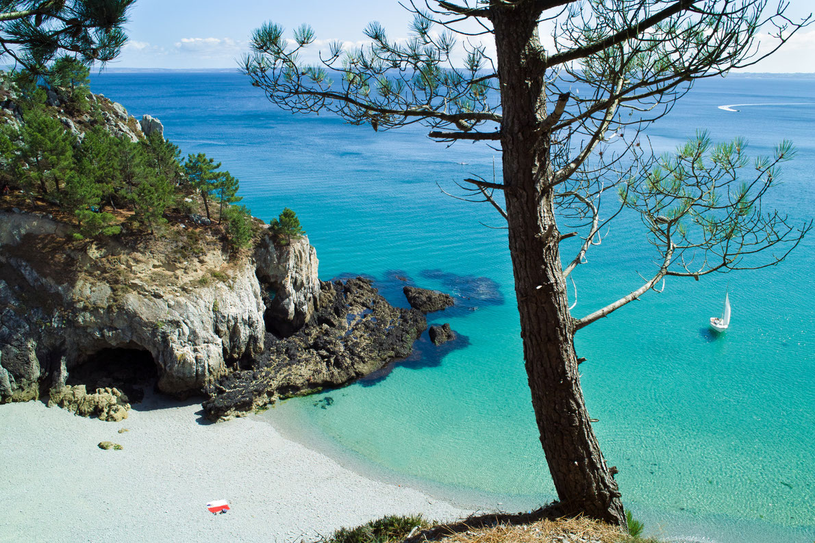 Ile Vierge beach in Crozon, France - Best beaches in Europe