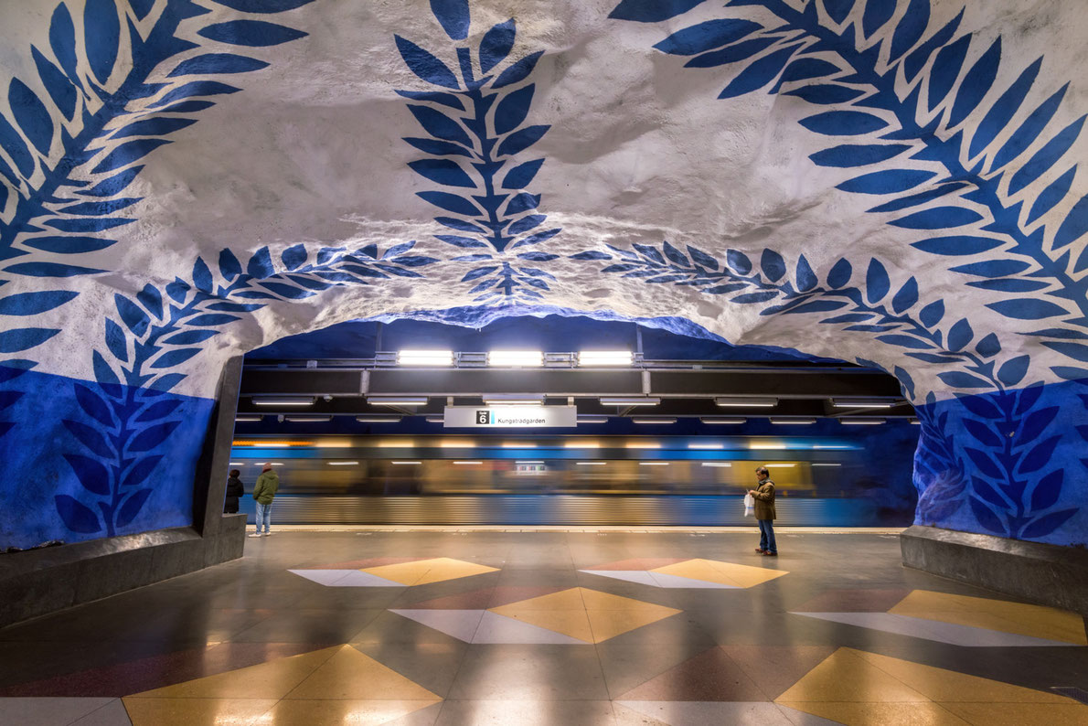 best subway stations in Europe - T-centralen station - European Best Destinations - Copyright mango-two-friendly
