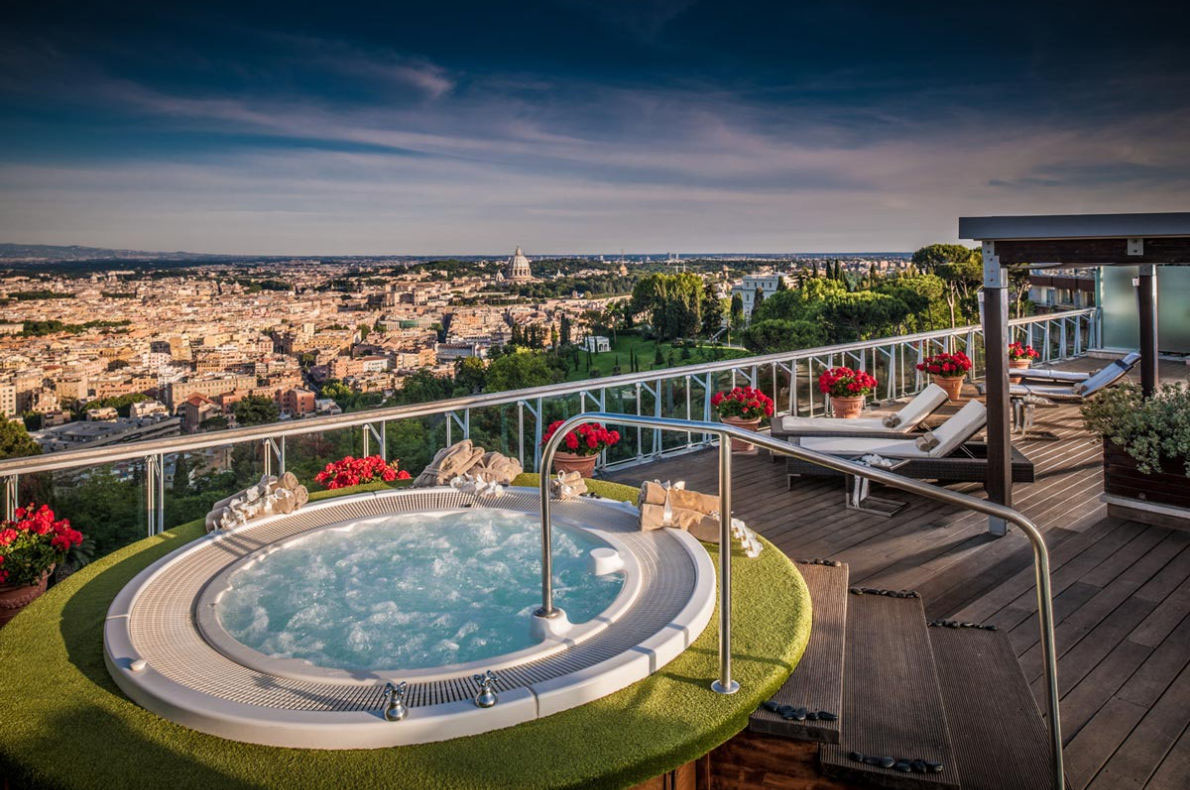 Rome Cavalieri Penthouse suite - Best Hotel Suites in Europe