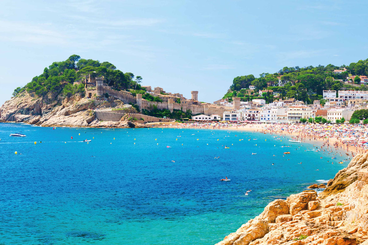 Costa Brava - Tossa de Mar  - Best Family destinations in Europe - Copyright  Sergey Peterman - European Best Destinations