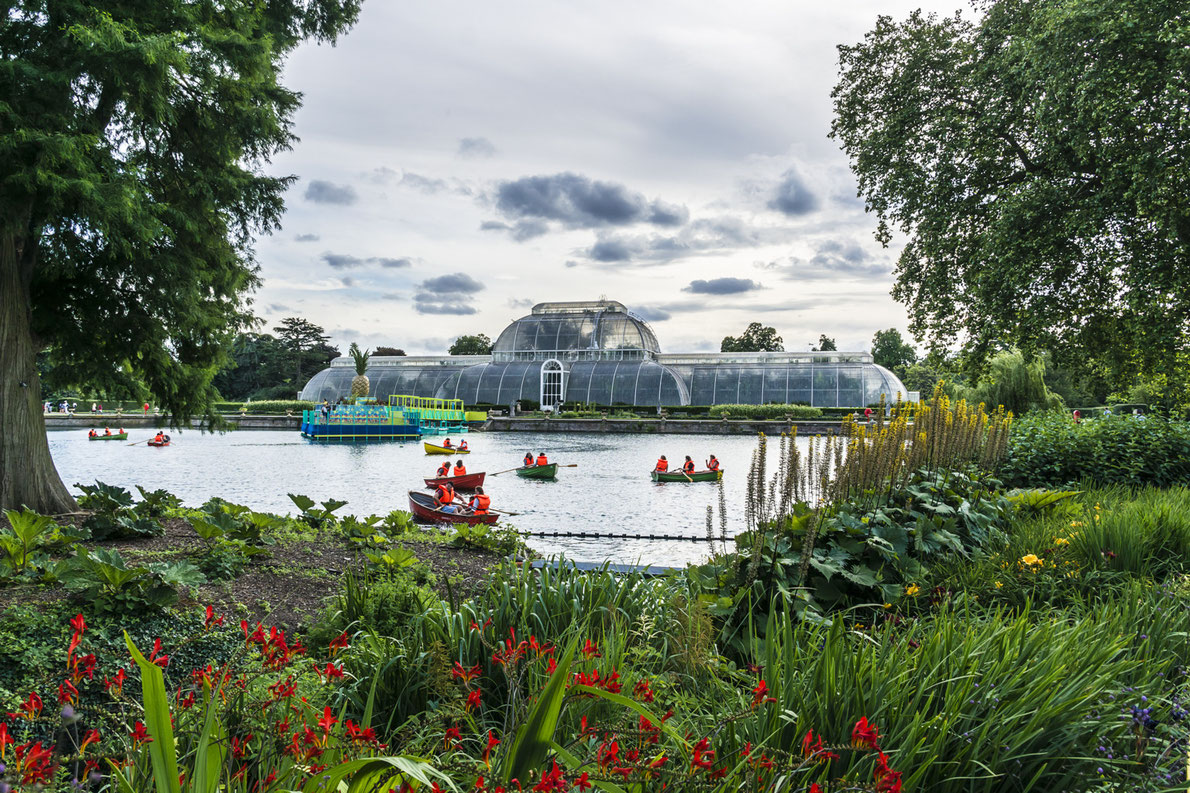 Botanical Garden Kew Garden - Best Green Houses in Europe - European Best Destinations Copyright Kiev.Victor