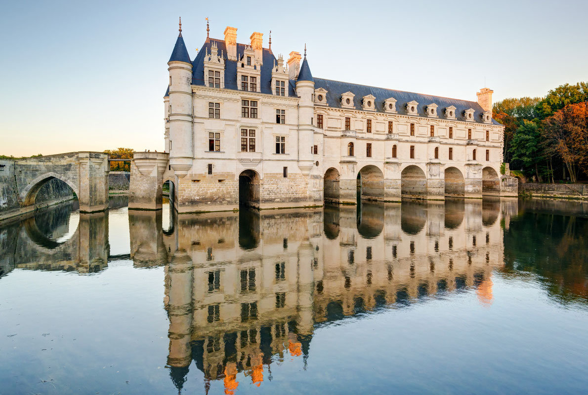 Chateau de Chenonceau France - Best Castles in Europe