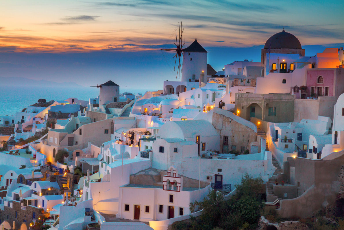 Santorini Best Romantic Destinations In Europe