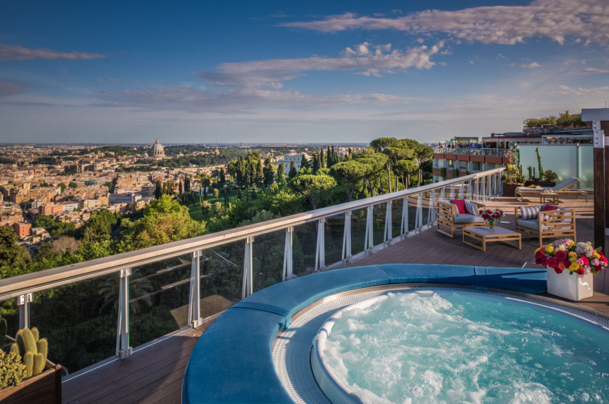 Best Wellness Hotels in Europe - Rome Cavalieri - European Best Destinations