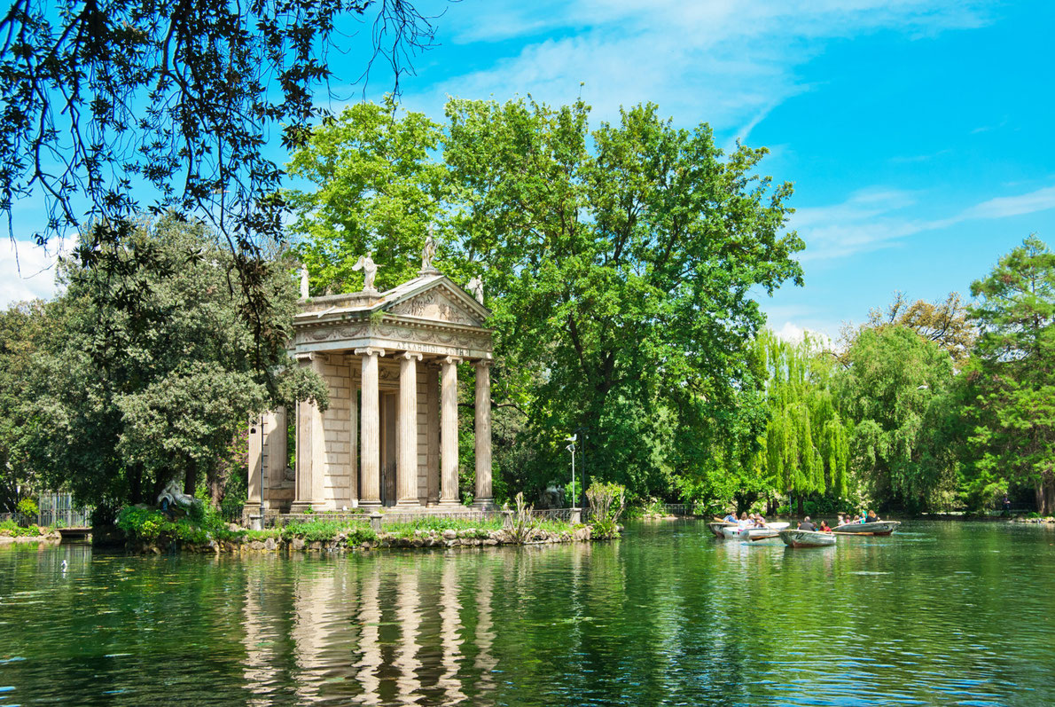 Best city parks in Europe - Villa Borghese Gardens Copyright Alexander Demyanenko - European Best Destinations