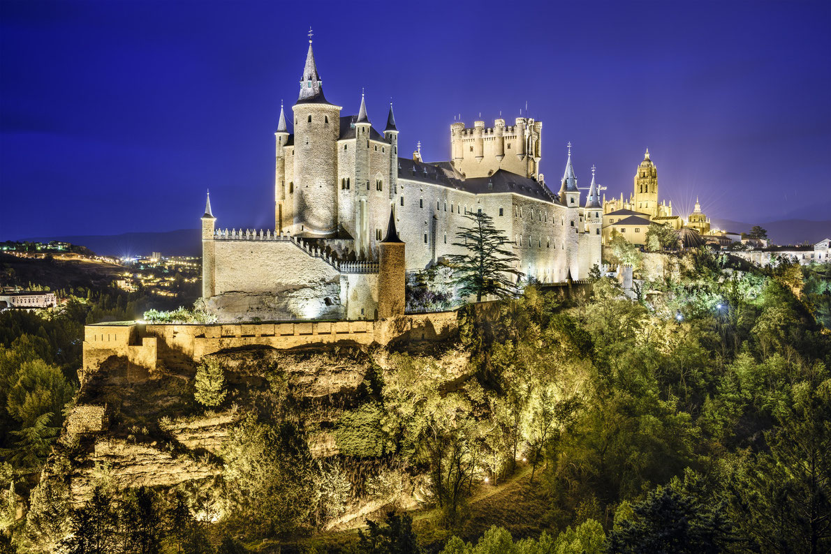 Alcazar Castle Segovia - Best castels in Europe