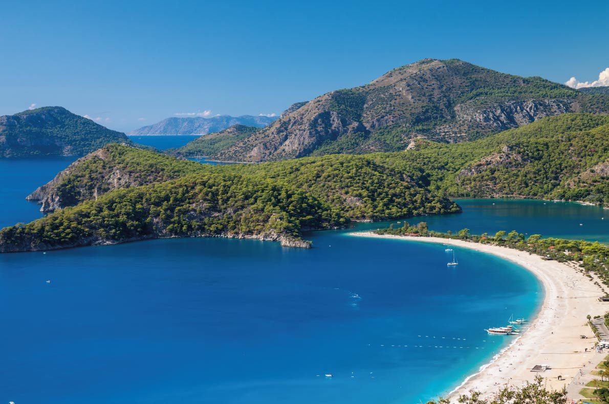 Oludeniz Beach in Turkey - Best beaches in Europe