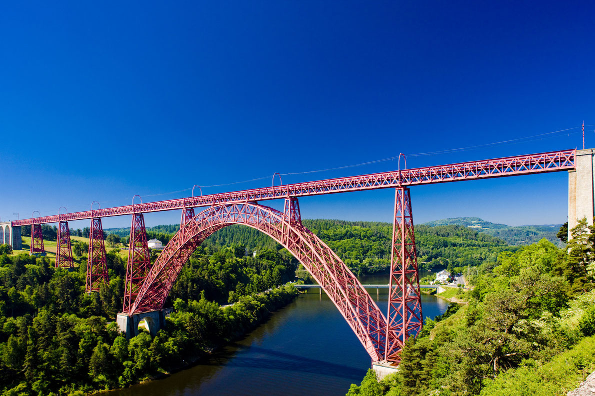 The Garabit Viaduct France