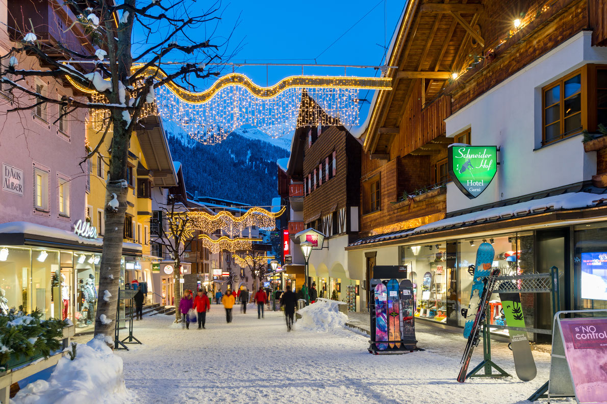 Most beautiful ski villages in Europe - St Anton - Copyright  Boris-B