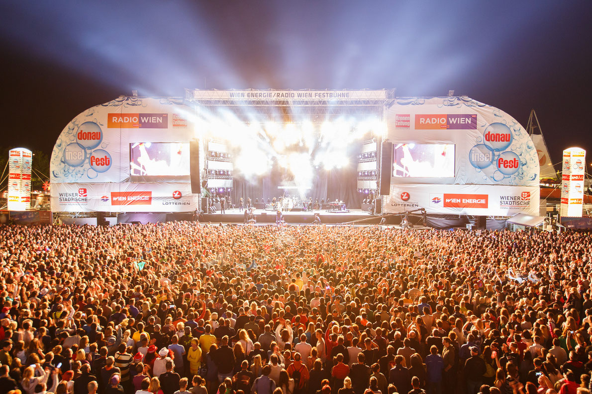 Donauinselfest Festival - Best summer music festivals in Europe