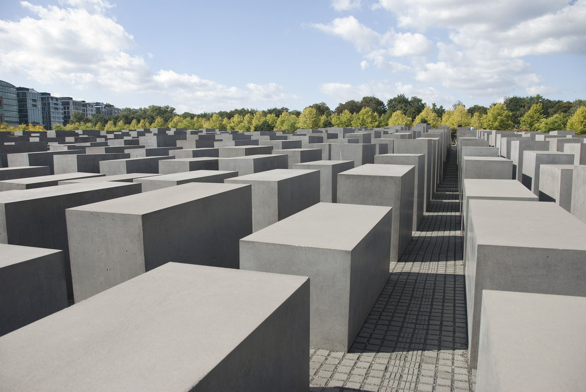 World war II destinations in Europe - Holocaust Memorial - Copyright  tonisalado