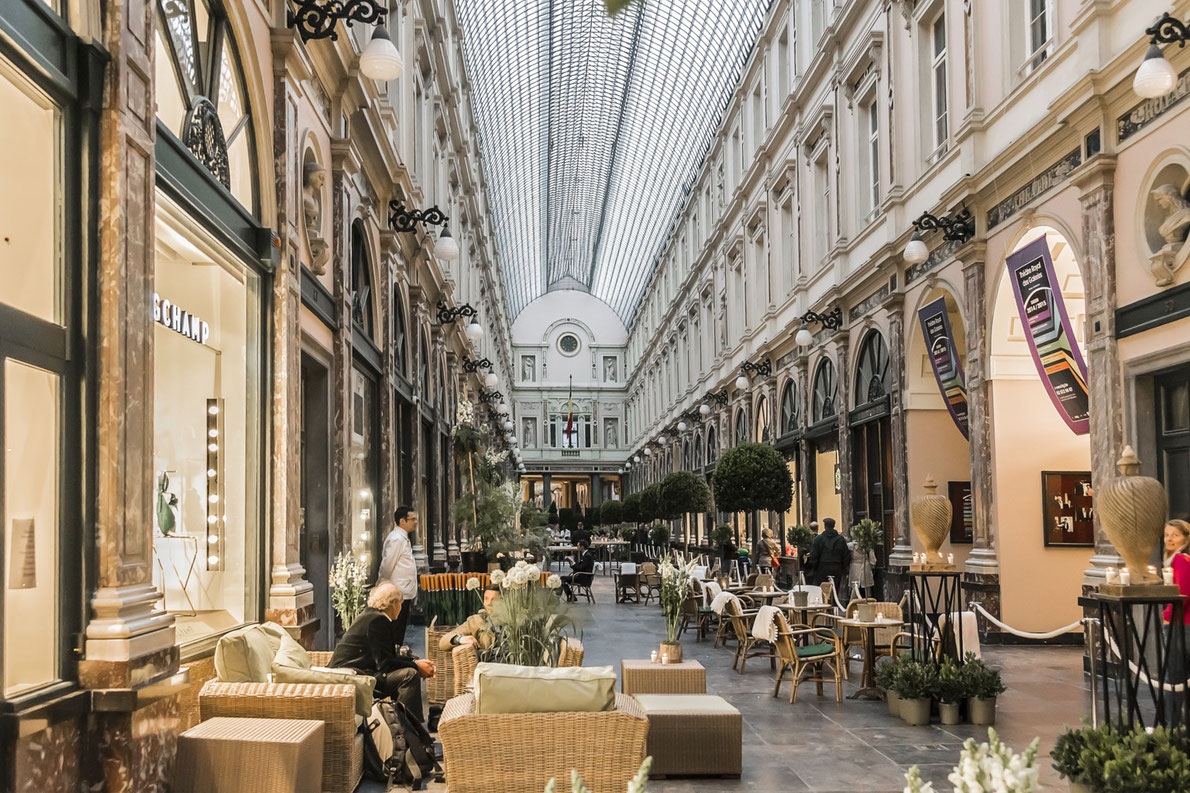Best shopping centers in Europe - Galeries Saint Hubert Copyright  Kiev.Victor - European Best Destinations