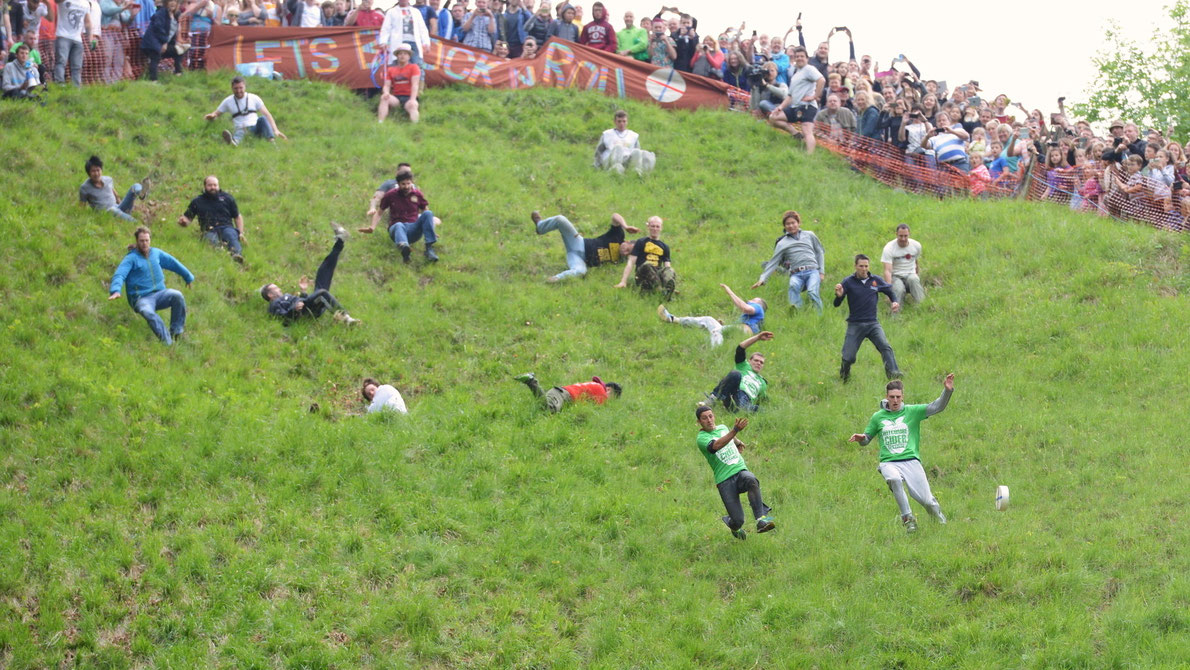 Best amazing events in Europe - Cheese Rolling - Copyright1000 Words - European Best Destinations