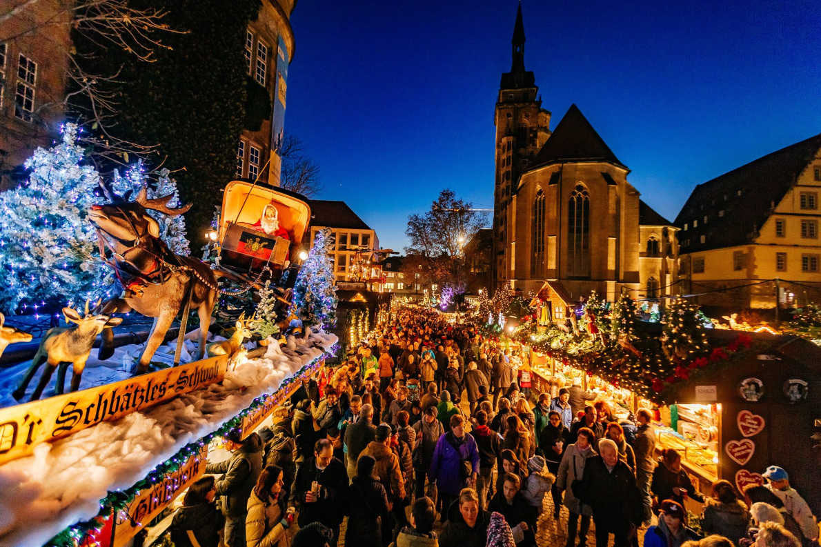 Christmas in Stuttgart Copyright Achim Mende  -  European Best Destinations