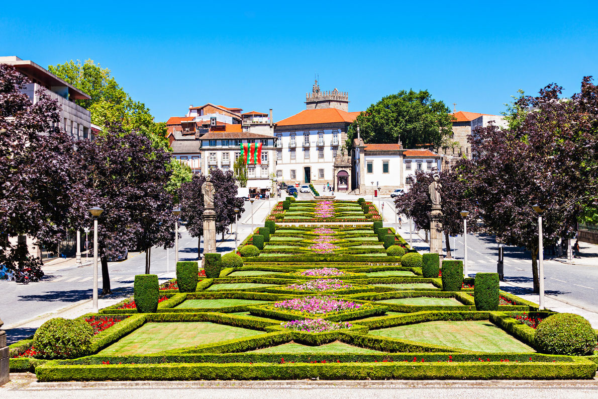 Nossa Senhora Da Consolacao in Guimaraes Portugal