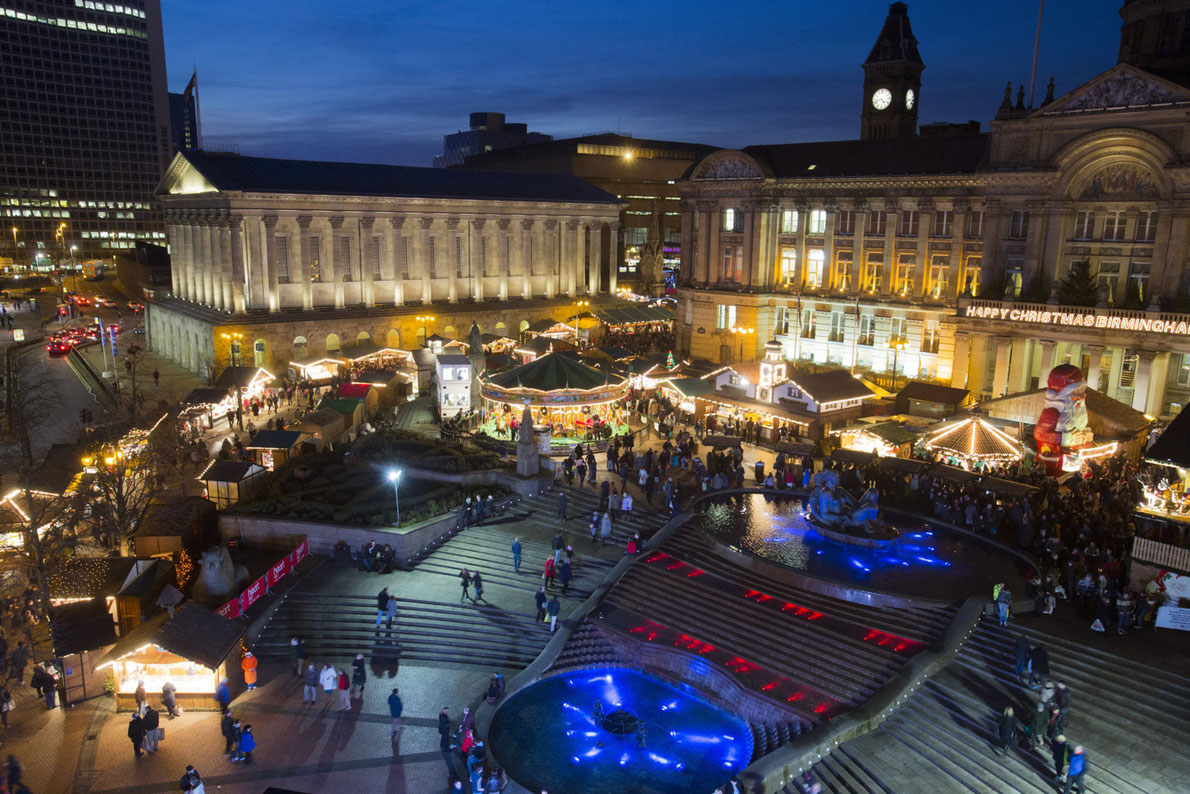 Christmas in Birmingham - Copyright Visit Birmingham - European Best Destinations