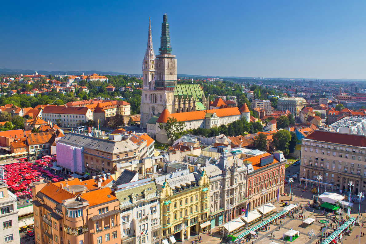 Zagreb - Easter destinations in Europe - Copyright xbrchx - European Best Destinations