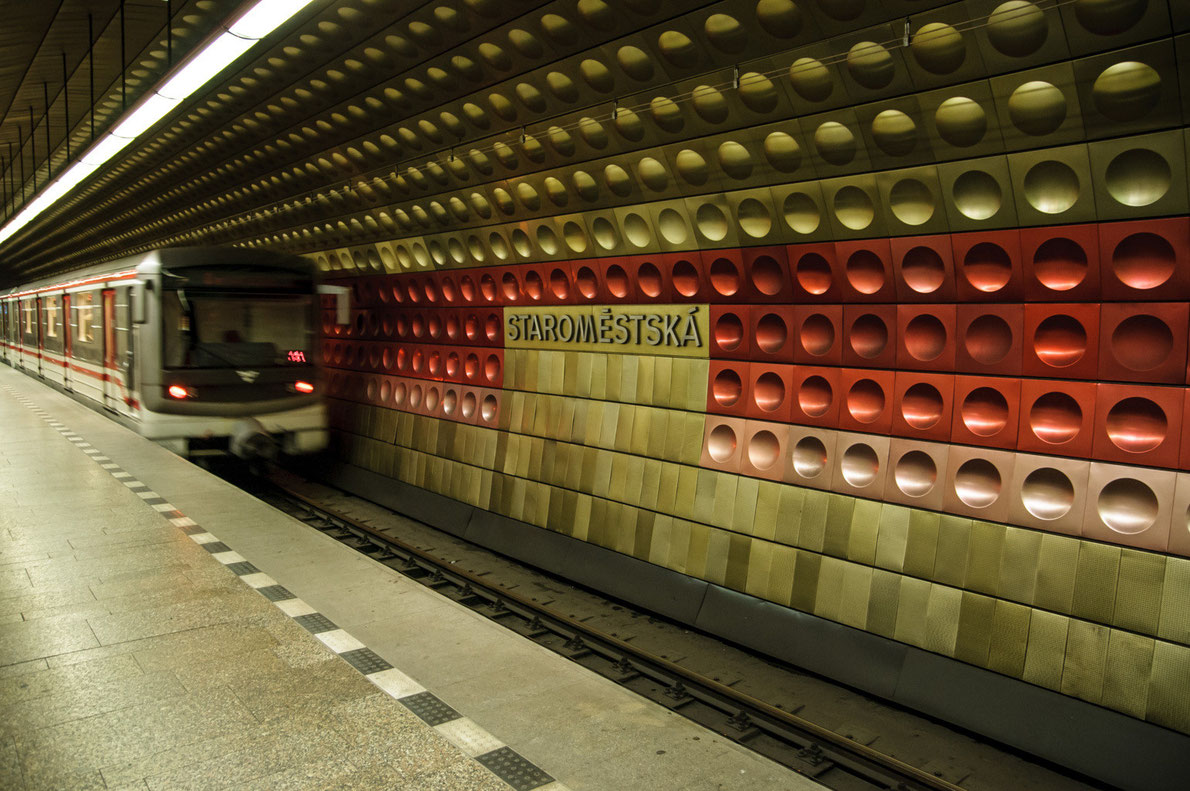 Best subway stations in Europe - Staromeska station - European Best Destinations - copyright Stuart Slavicky