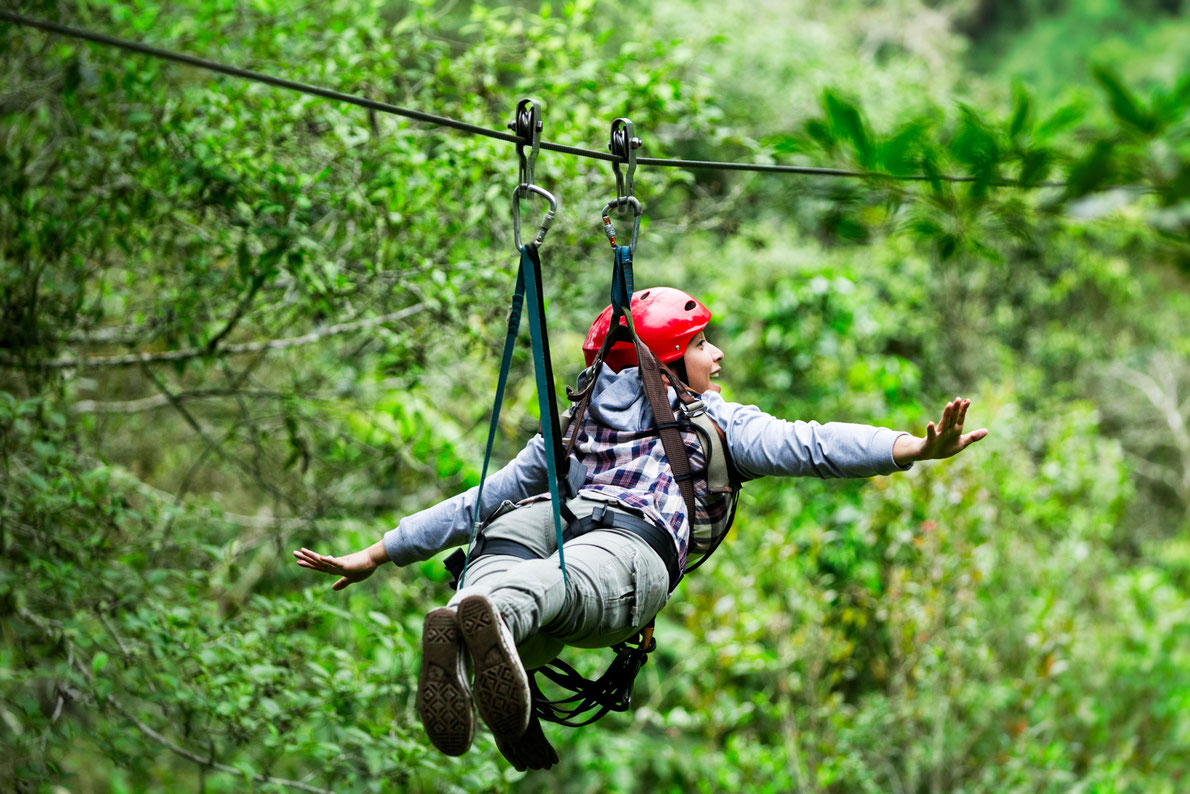 Zip Linning in Croatia Copyright  Ammit Jack