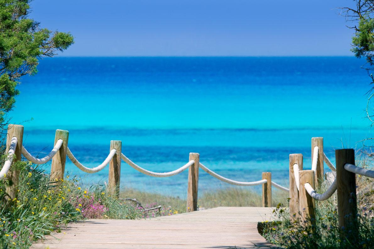 Best beaches in Spain - Ses Illetes in Formentera Copyright Holbox - European Best Destinations